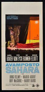 Plakat-Aussenposten-Sahara-Goutowski-Lyndon-Baker-Van-Eyck-Bannen-Elliot-L154