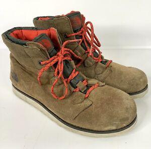 miło tanio Kod kuponu świetne ceny Details about Women's THE NORTH FACE Heat Seeker Suede Ankle Boots size 9  200 gram Insulation