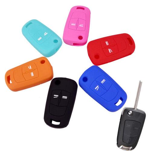 Schlüssel Cover Car Key Silikon Schutz Hülle für OPEL CORSA D ASTRA ZAFIRA