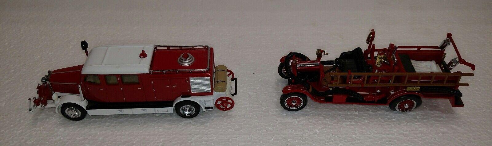 ventas al por mayor Modelos Matchbox de antaño camiones de bomberos Lote de 2 2 2 1916 Modelo T 1938 Mercedes KS  la red entera más baja