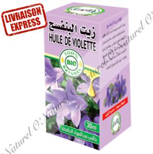 Huile-de-Violette-BIO-100-Pure-amp-Naturelle-30ml-Violet-Oil-Aceite-de-Violeta