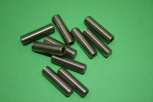 DIN 913 Edelstahl A2 V2A M6 4-70 mm Gewindestifte Madenschrauben