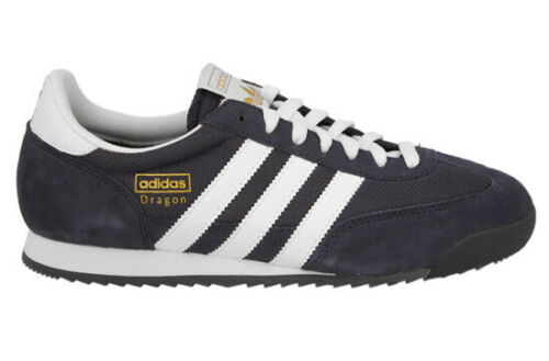 Men's Shoes Men's Trainers Adidas Dragon G50919 Navy/White UK Mens ...