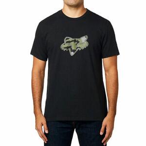 Fox-Racing-Men-039-s-Predator-Basic-Short-Sleeve-T-Shirt-Black-Clothing-Apparel-Tees