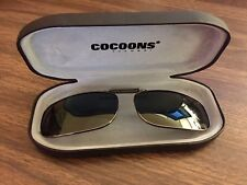 849972e3e36 item 2 COCOONS Rectangle Gunmetal Grey Polarized Sunglasses Eyeglasses Over  Rx Clip-on -COCOONS Rectangle Gunmetal Grey Polarized Sunglasses Eyeglasses  Over ...