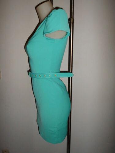 s T Imerial Vert Courte Dore Zip Dos Moulante xs Robe Superbe Sexy Corail 4xSwOnqBB7