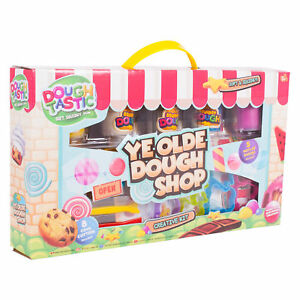 Ye-Olde-Dough-Shop-Kids-Childrens-Play-Dough-Craft-Gift-Set-Tubs-And-Shapes-Toy