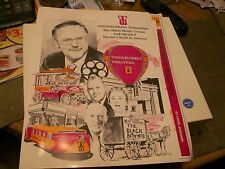 WEHRENBERG THEATRES ADVERTISING BOOKLET W/VINTAGE THEATRE PICTURES-