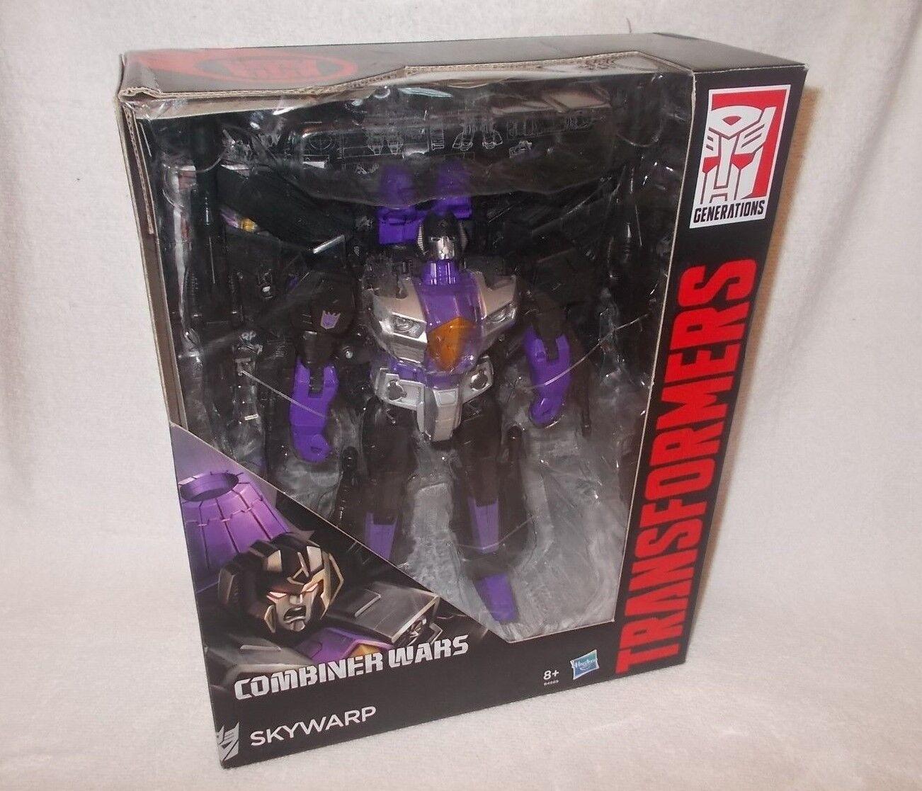 Transformers Action Figure Movie Combiner Wars Leader Skywarp 12 inch