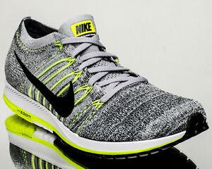 42c7b501e9a13 Nike Flyknit Streak men running run shoes NEW wolf grey 835994-007 ...