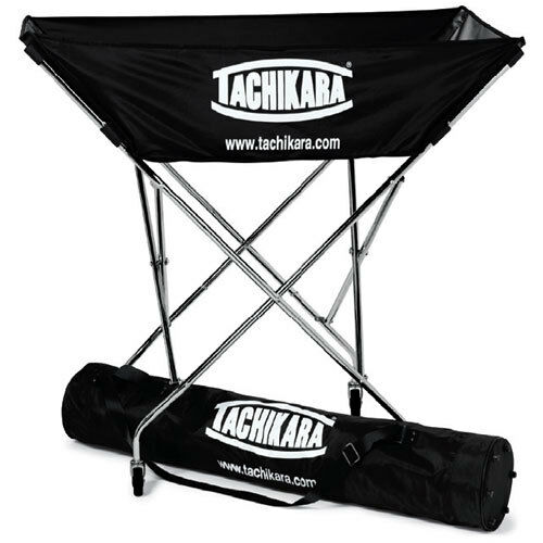 Awesome Tachikara Collapsible Hammock Ball Cart With Nylon Carry Bag   EBay