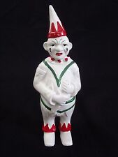 Vintage c1960's Collectible Cast Iron Clown Still Bank by A.C.Williams Co