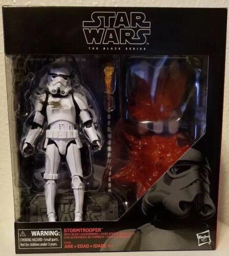 Star Wars Black Series 6 inch exclusive Stormtrooper with Blast Accessories