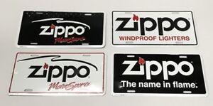 4 zippo Original Plate 4 X Us-Car-Plates Original zippo Tin Sign Advertising