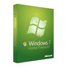 Microsoft Windows 7 Home Premium OEM 32/64 Bit Win Original Key GENUINE
