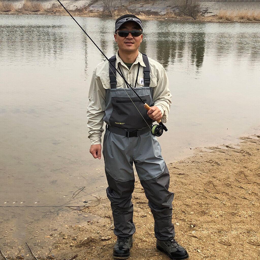 Watten voor lichte visserij WaterBesteendig Chest Wader voor de visserij Rafting Farm