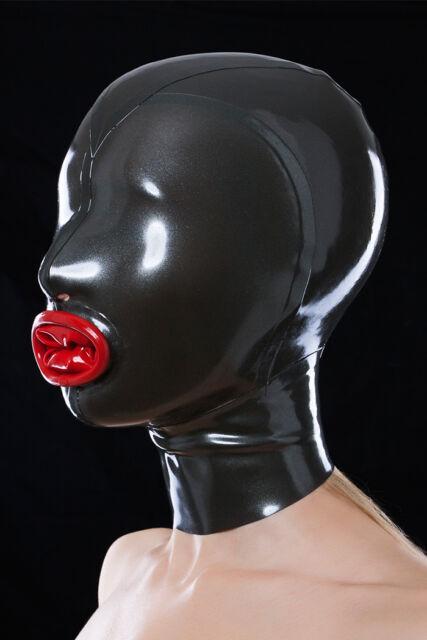 Latex Maske mit Kondom