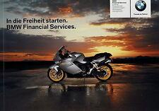 Prospekt BMW Motorräder Motorrad 9 2007 Financial Services Finanzierung Leasing