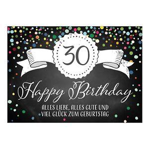Gluckwunsche Zum 30 Geburtstag