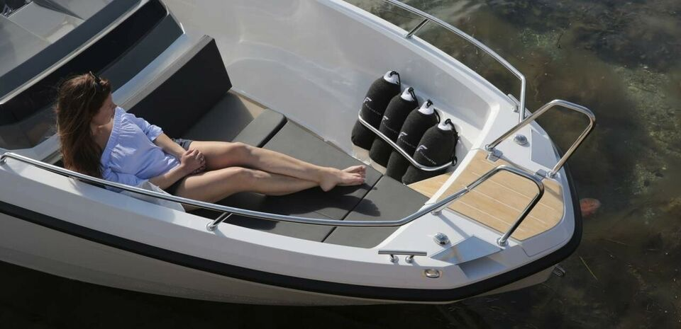 Finnmaster S6 m/100 HK og udstyr, Motorbåd, årg. 2019