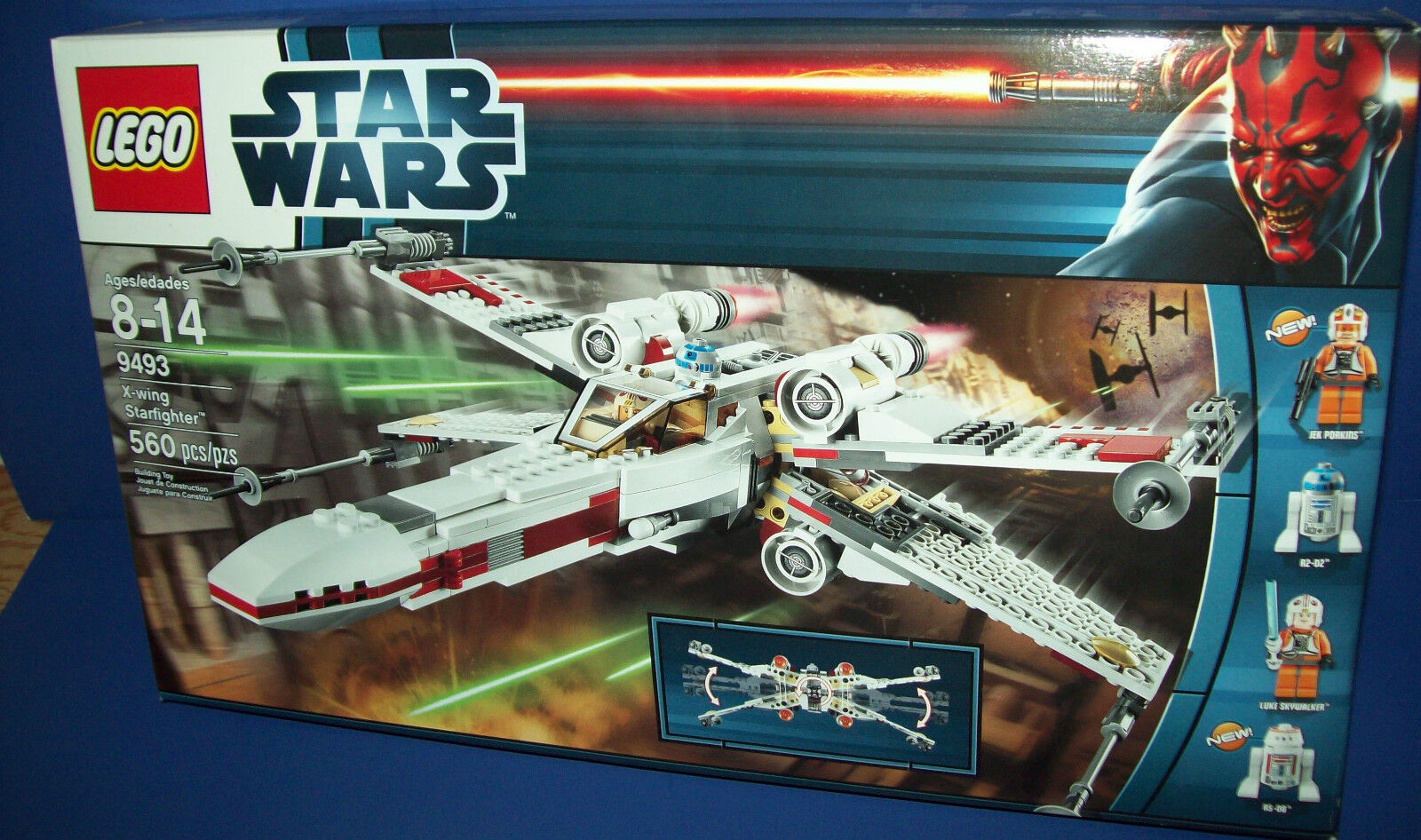 LEGO 9493 STAR WARS - X-WING STARFIGHTER Retirojo NEW in BOX sealed