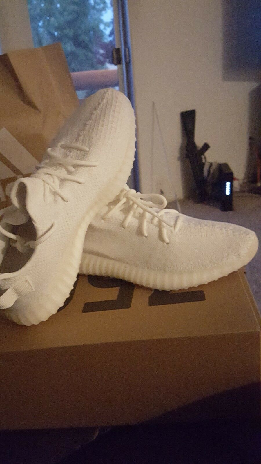yeezy 350 v2 dead stock . 100% authentic Never Been Worn Come With reciept