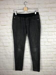 AG-Adriano-Goldschmied-Women-039-s-Sz-30R-Black-Jegging-Skinny-Jeans