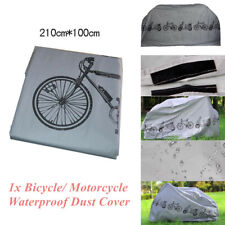 Grey Bicycle Cycling Rain//Sun Cover Motorcycle Scooter Dust Protector Waterproof