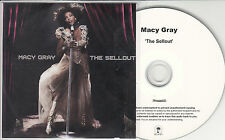 MACY GRAY The Sellout 2010 UK numbered 12-track promo test CD