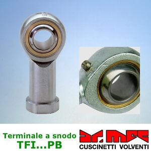 Testa-a-snodo-serie-TFI-PB-rilubrificabile-femmina-acciaio-su-bronzo