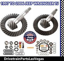 Premium Dana 35 + 30 Jeep Ring and Pinion Gear Set Pkg w Master Kit 4.11 Ratio