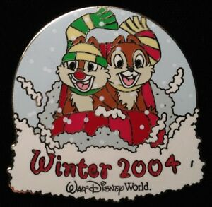WINTER 2004 SURPRISE PIN LIMITED EDITION Chip /& Dale