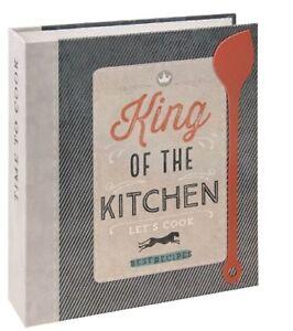 Rezept Ordner A5 QUEEN OF THE KITCHEN Register 40 Rezeptkarten Sammlung Geschenk