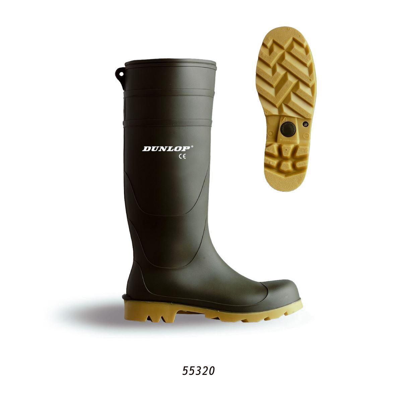 Dunlop Universal Herren Damen Regenstiefel Leicht zu Reinigen Gummistiefel Gummistiefel Gummistiefel 1381db