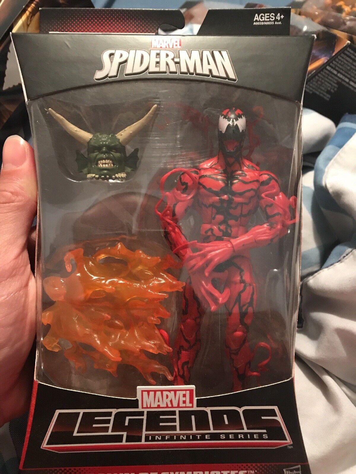 Marvel - legenden spiderman unendlichkeit Grün goblin baf - serie Blautbad action - figur