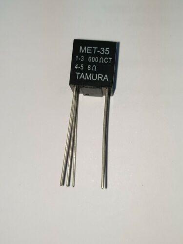 PLR/_MET-35 Axial 5Pins 2Pcs X MET-35 Tamura Audio Transformer 600CT Pri.//8 Sec