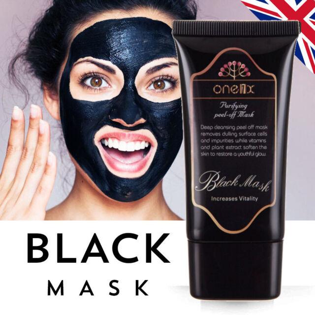 Charcoal Face Mask Peel Off Black Mask Deep Clean Blackhead Acne Dirt Remover UK