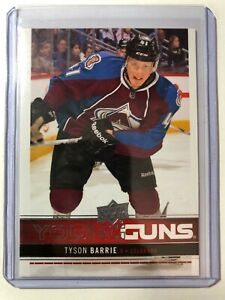 2012-13-Tyson-Barrie-Upper-Deck-Young-Guns-Rookie-Card