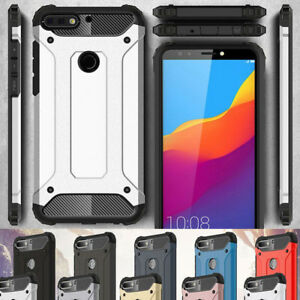 online retailer 64cac 6e1b7 Details about For Huawei Y6 Y7 Pro Y9 2018/2017 Shockproof Hybrid Armor  Case Rugged Hard Cover