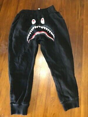 NEW Bape A Bathing Ape Shark Head Sweatpants Women//Men Sports Jogger Sweat Pants