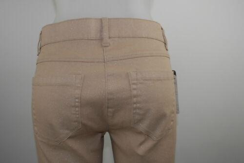 Hose Etikett Mit Elasthan Baumwolle Altrosa Apriori Neu Jeans Glitzer 38 Ankle dRzgxqB