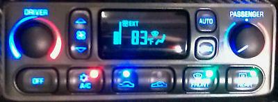 CORVETTE CLIMATE CONTROL C5 LCD HVAC A//C REPAIR SERVICE 97-04 LIFETIME WARRANTY