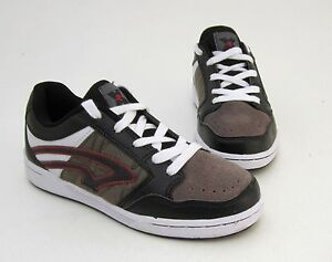 Sneaker-von-Criss-Cross-Halbschuhe-Schnuerer-Kunstleder-Mesh-braun-Gr-34