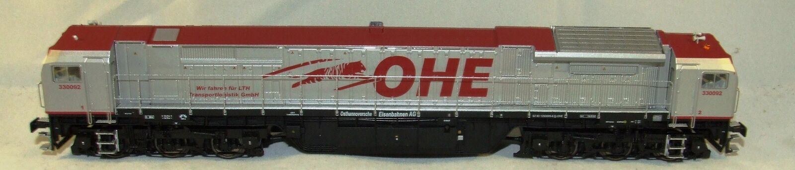Mehano HO 63461 Diesellok Red Tiger der OHE in DC