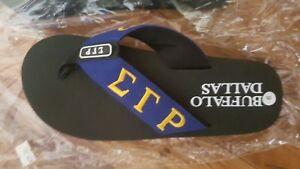 6f237af60bfd Sigma Gamma Rho Flip Flop Slippers INDOOR POOL OUTDOOR Divine 9 flip ...