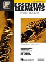 Essential Elements 2000: Comprehensive Band Method: B Flat Clarinet Book 1 By ,