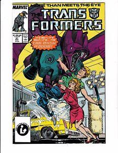 TRANSFORMERS-31-NM-Ratbat-Shockwave-Ramjet-Marvel-1987-Copper-Age