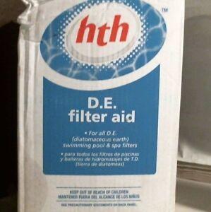 Hth de diatomaceous earth filter aid 10 lb box 61307 ebay - Diatomite filter media for swimming pools ...