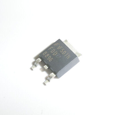 5pcs FDD8424H FDD8424 FAIRCHIL TO-252 Dual N /& P-Channel PowerTrench MOSFET