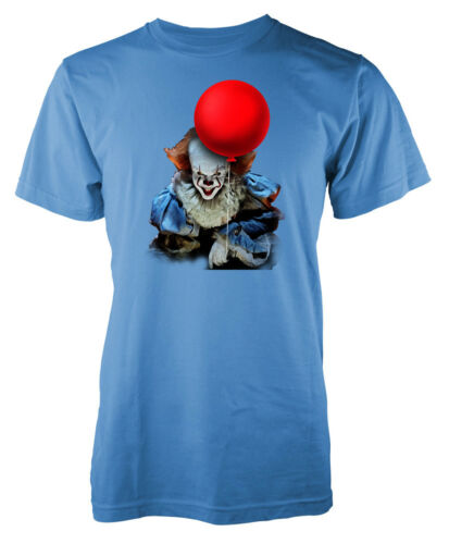 Stephen King IT Pennywise The Clown Red Balloon Kids T Shirt